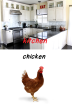 kitchen chicken
